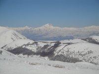 Gran Sasso from Monte Magnola, Ovindoli