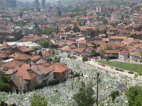 View form Sarajevo hillside