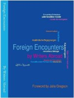 Foreign Encounters anthology 2012