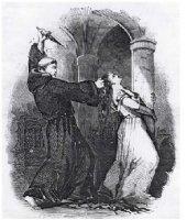 "Matthew Lewis' ""The Monk"" illustration"