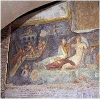 Case romane fresco, Rome