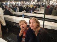 At the food stalls, Jemaa el-Fna, Marrakech, Kimberly Sullivan