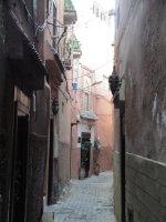 Streets in the medina, Marrakech