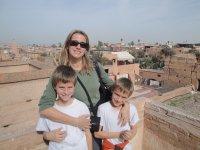 View from El Badi Palace, Marrakech, Kimberly Sullivan