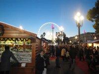 Nice, France Christmas market