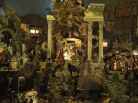 Basilica dei Santi Cosma e Damiano nativity scene