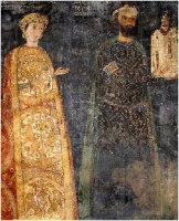 Sebastokrator Kaloyan and his wife, Desislava, 1259