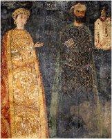 Sebastokrator Kaloyan and his wife, Desislava, 1259