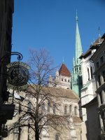St Pierre Cathedral, Geneva