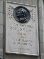 Birthplace of Jean-Jacques Rousseau