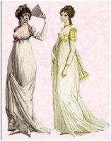 19th century ball gowns