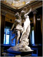 Apollo and Daphne, bernini