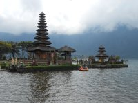 Bedugul lake temple, Bali