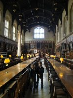 'Hogwart's' Dining Hall
