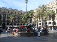 Placa Real, La rambla, Barcelona, Spain