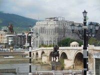 Stone Bridge, Skopje, Macedonia