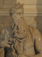 Michelangelo's Moses, Rome