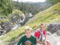 Mystic Falls, Yellowstone National Park, US