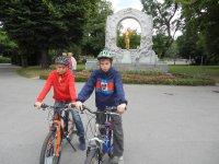Biking Vienna, Austria