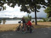 Biking Vienna, Donauinseln