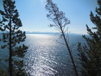 Yellowstone Lake, Wyoming, US