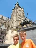 St Vitus bell tower, Prague