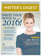 Writer's Digest cover, January 2016