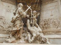 Vienna's plague column, Austria