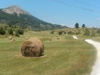 Mountain biking, Abruzzo, Italy