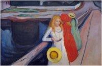 Edvard Munch, Girls on the Pier