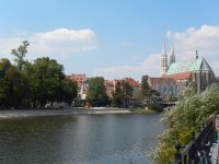 Goerlitz, Germany, from Polish side