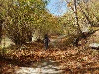 Autumn biking, Abruzzo