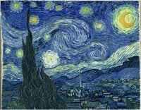 MoMA, New York, Van Gogh, The Starry Night