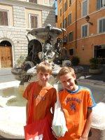 Turtle Fountain, Rome