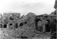 Montecassino Abbey - World War II bombing