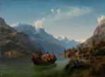 The Bridal Procession in Hardanger, 1848