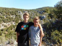 Oppedette Gorge, Provence, France