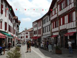 Espelette, Pays basque, France