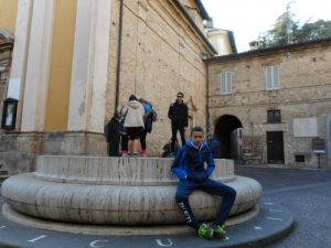 At the geographical center of Italy