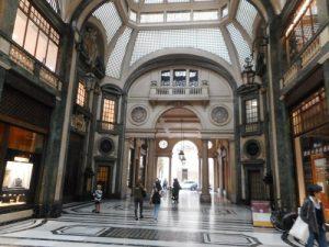 Turin's galleries, Italy