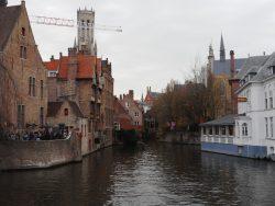 Biking Bruges, Belgium