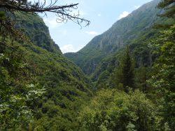 Gole di Celano, Abruzzo, Italy