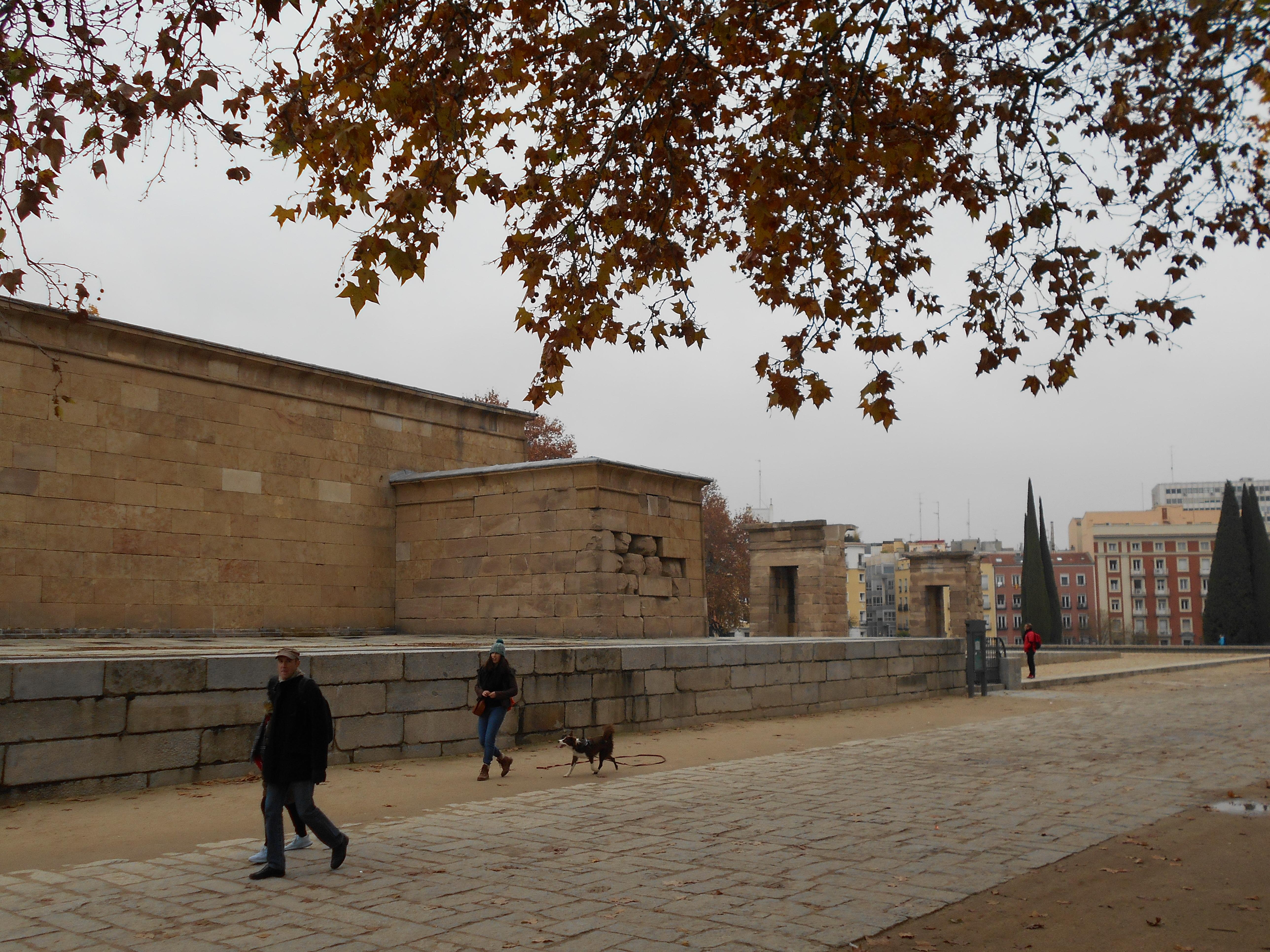 Temple of Debod, Madrid/Sullivan