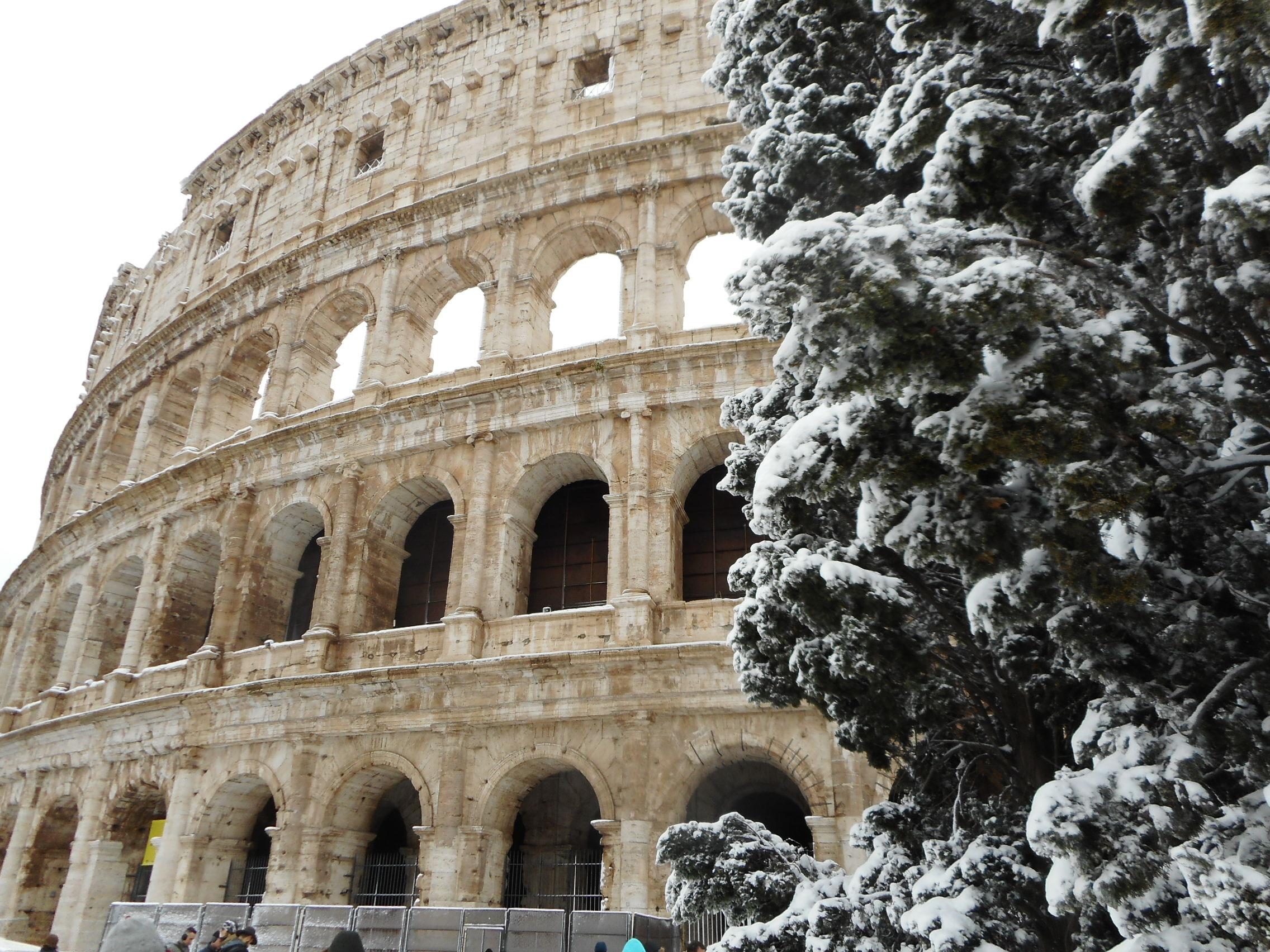 Roman snow/ Kimberly Sullivan