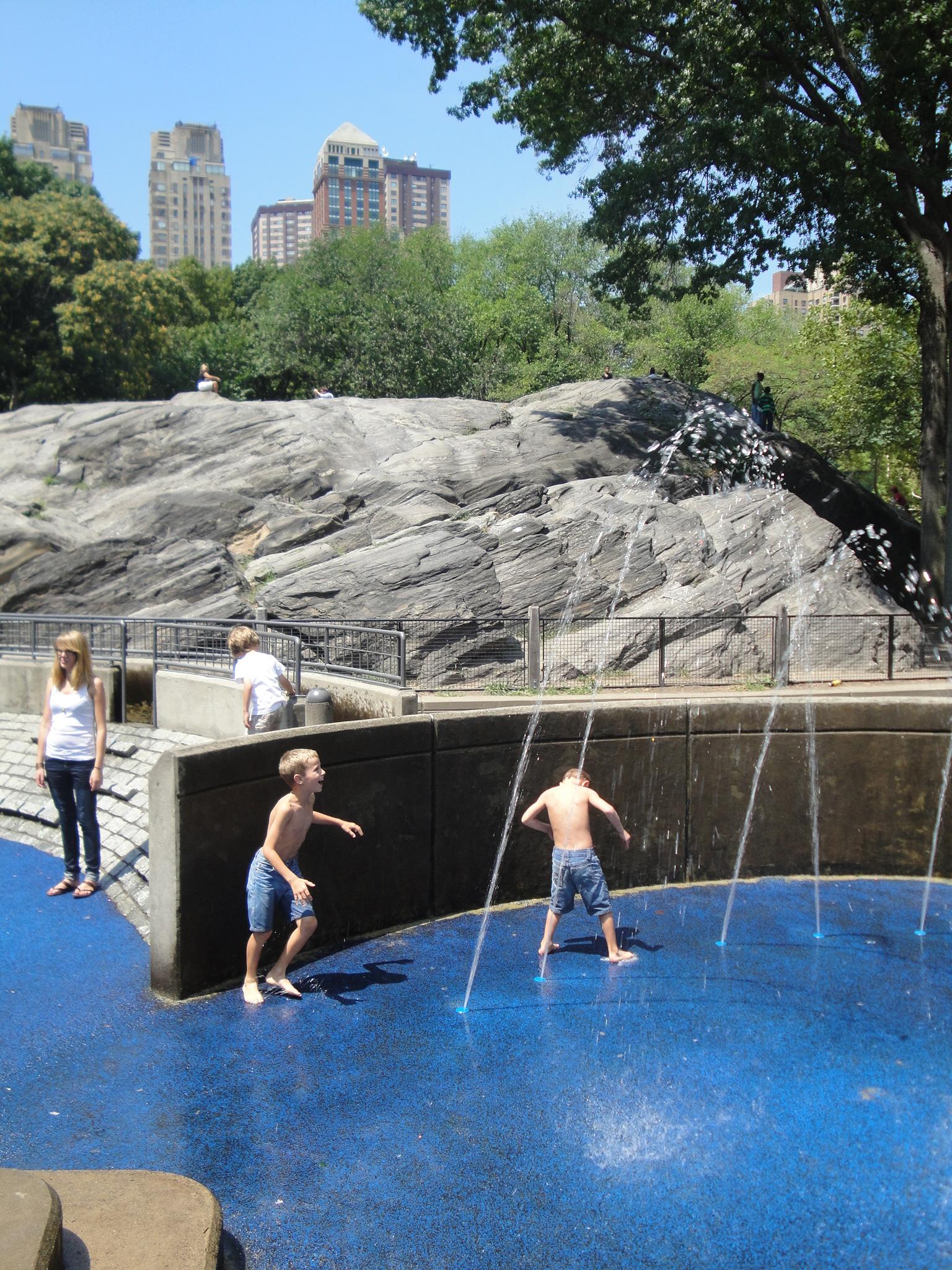 Central Park playgrounds, NY/ Kimberly Sullivan