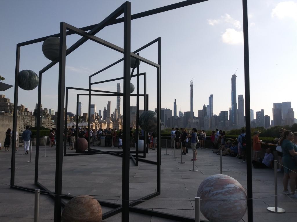 Met Museum rooftop exhibition, New York/ Kimberly Sullivan