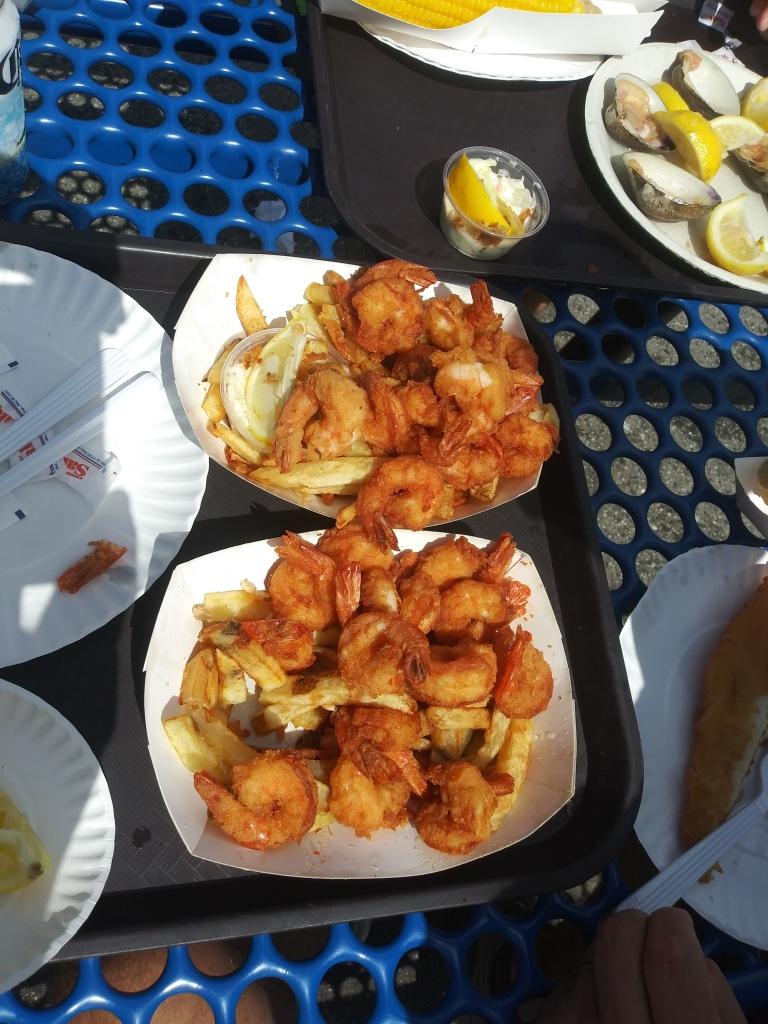 Eating on City Island, NY/Kimberly Sullivan