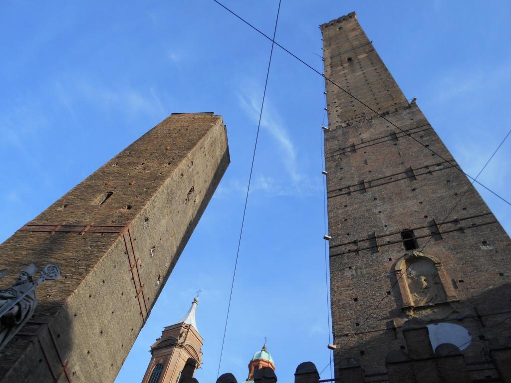 Bologna towers, Italy/ Kimberly Sullivan