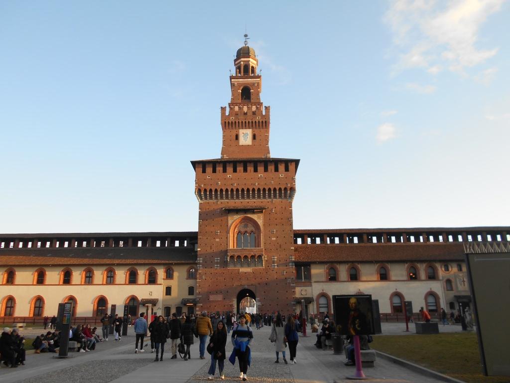Castello Sforzesco, Milan, Italy / Kimberly Sullivan