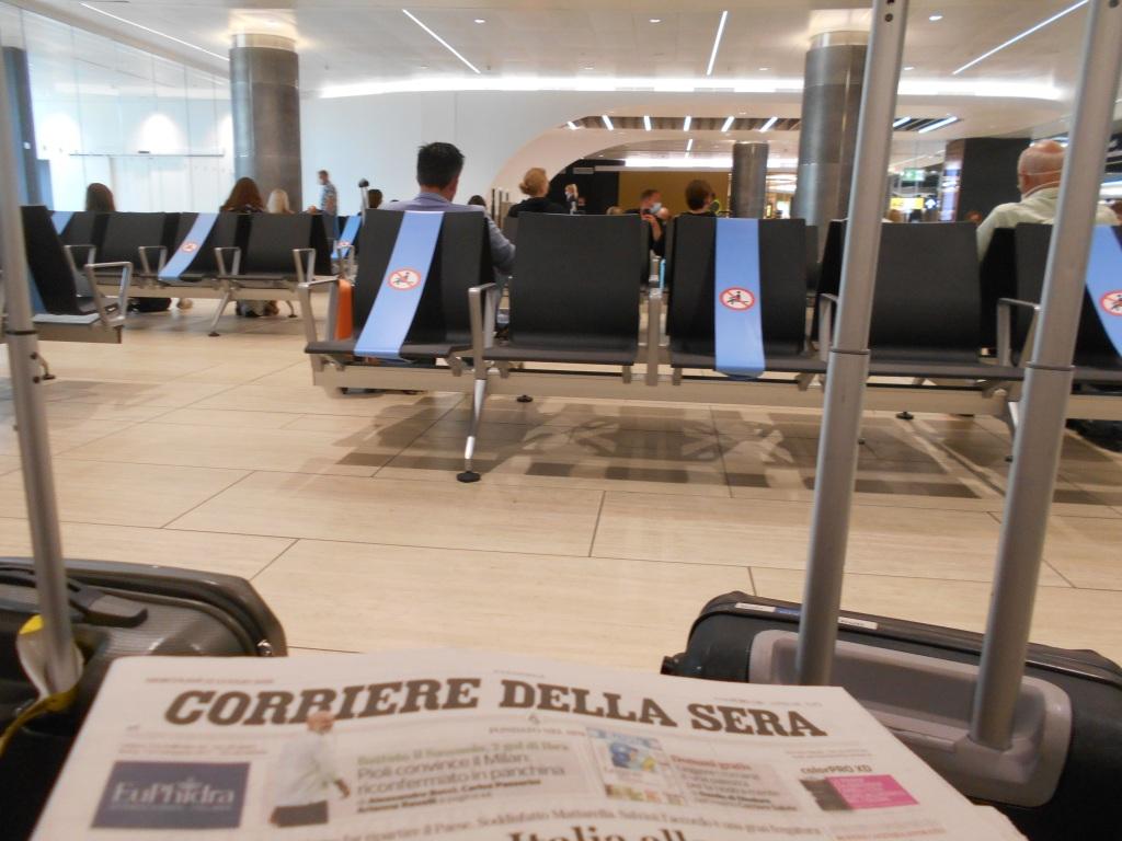 Rome airport / Kimberly Sullivan